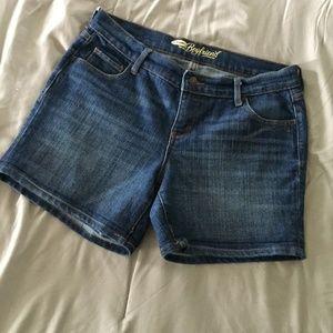 Old Navy Boyfriend Shorts Size 6